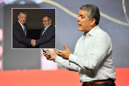Juan Manuel Santos, 'Ticmochenko' e Iván Duque