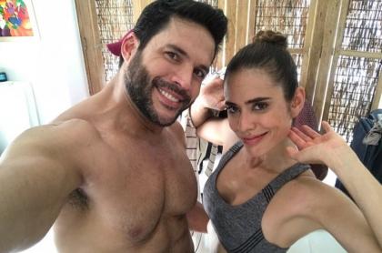 Alejandro Otero y Carolina Ramírez