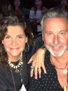 Marlene Rodríguez y Ricardo Montaner