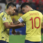 Falcao García y James Rodríguez
