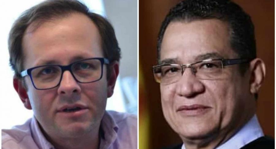 Andrés Felipe Arias y Gustavo Malo