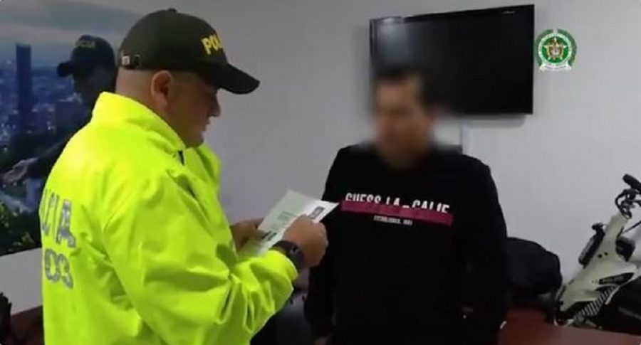 Mexicano capturado