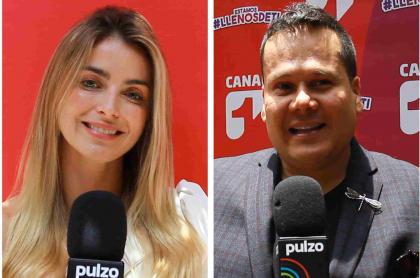 Cristina Hurtado, Ariel Osorio y CLaudia Cano