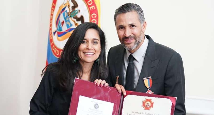 Catalina Ortiz Lalinde y Mario Alberto Yepes
