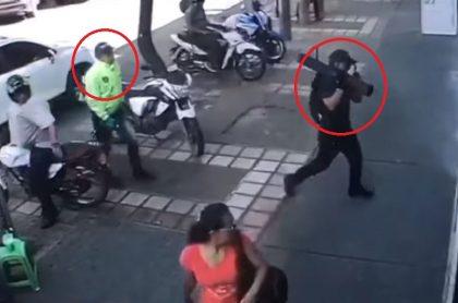 Ladrones en Medellín