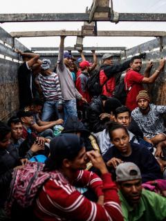 Daniel Salaverry, candidato presidencial, prometió expulsar a todos los venezolanos ilegales que se encuentran en Perú.