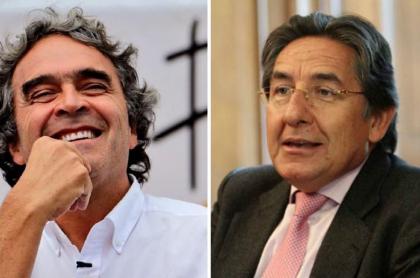 Sergio Fajardo y Néstor Humberto Martínez