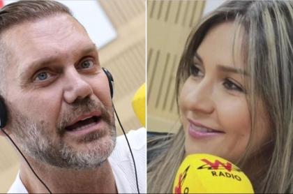 Nacho Vidal y Vicky Dávila