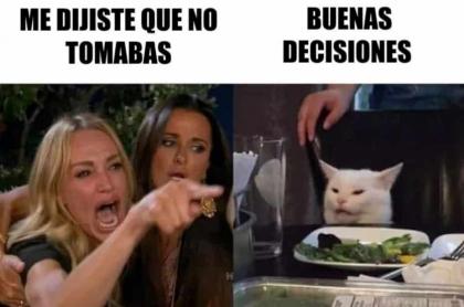 Meme de gato.