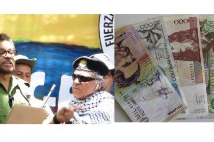 Iván Márquez-Jesús Santrich-Pesos colombianos