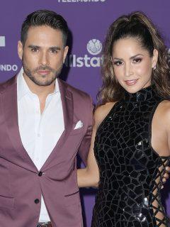 Sebastián Caicedo y Carmen Villalobos, actores.