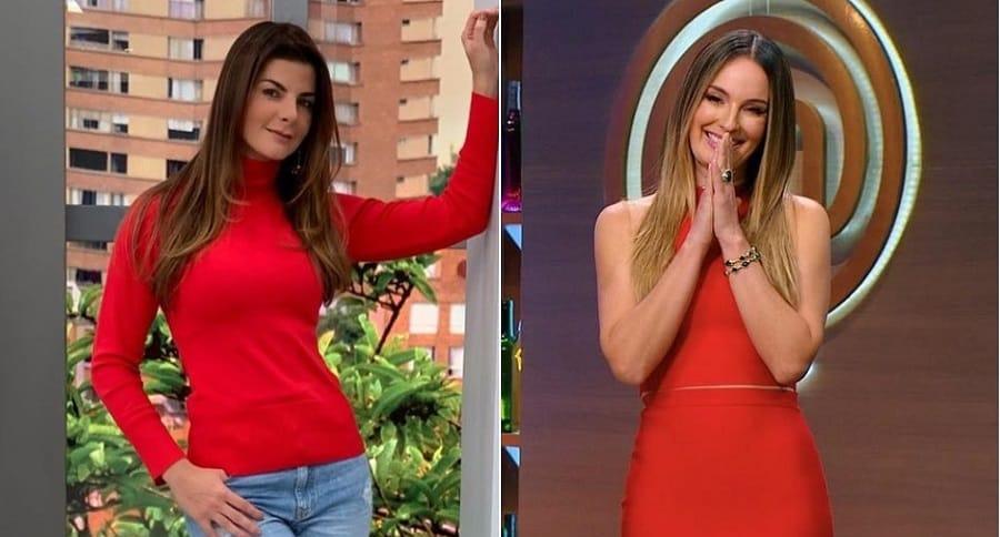 Carolina Cruz y Claudia Bahamón, presentadoras.