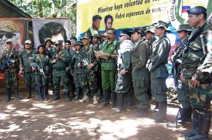 Grupo encabezado por alias 'Iván Márquez'