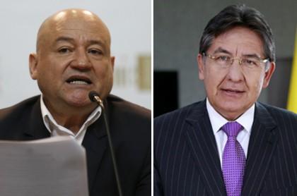 Julián Gallo, mejor conocido como Carlos Antonio Lozada, y Néstor Humberto Martínez