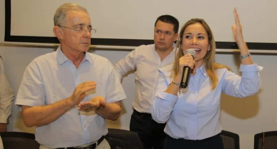 Claudia López, candidata a alcaldía de Bucaramanga