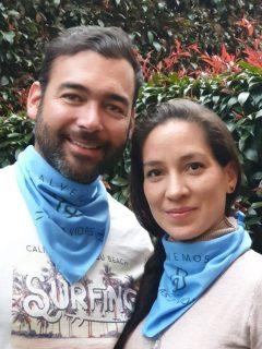 Juan Pablo Obregón y su esposa 'Ana MAría Malagón