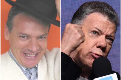 Don Jediondo y Juan Manuel Santos