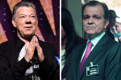 Juan Manuel Santos y Óscar Iván Zuluaga