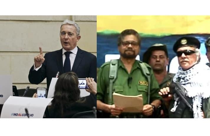Álvaro Uribe-Iván Márquez
