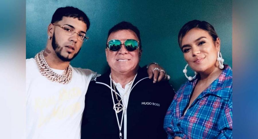 Anuel, Guillermo Giraldo y Karol G