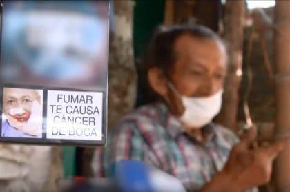 Abuelo que sale en los cigarrillos