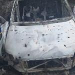 Camioneta en la que masacraron seis personas en Cauca