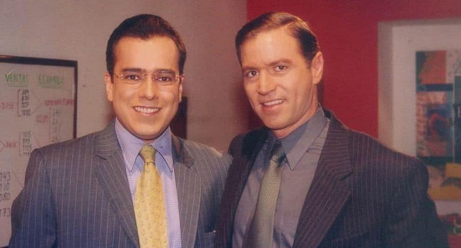 Jorge Enrique Abello y Ricardo Vélez, actores.