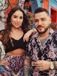 Romántica dedicatoria de Jessi Uribe a Paola Jara en concierto en Barranquilla