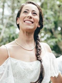 Mariana Pajón y su esposo