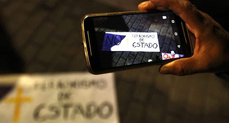Protesta contra crímenes de Estado