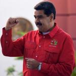 'Iván Márquez', 'Jesús Santrich' y Nicolás Maduro