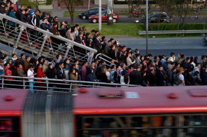 Congestión en Transmilenio