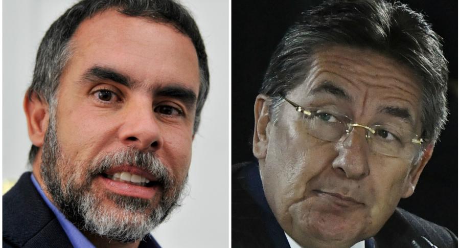 Armando Benedetti y Néstor Humberto Martínez