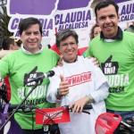 Juan Fernando Cristo, Claudia López y Guillermo Rivera
