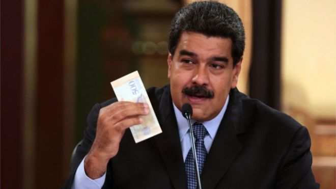 Nicolás Maduro-Bolívar Soberano