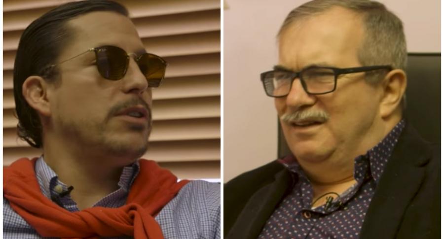 'Juanpis González' y 'Timochenko'.