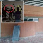 Policías en U. de Cundinamarca