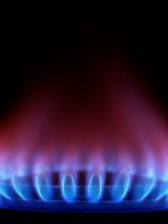 Gas natural, imagen de referencia.