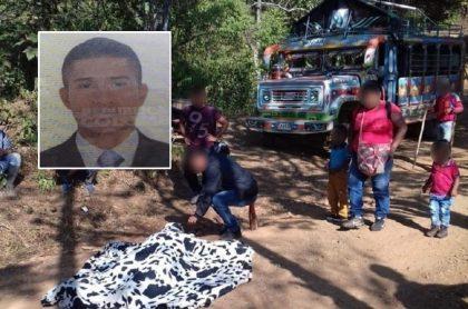 Ómar Guasaquillo, víctima en Jamundí