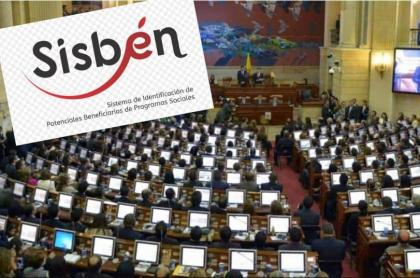 Congresistas en el Sisbén