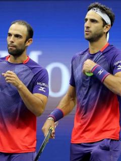 Por ayuda externa, Cabal y Farah clasificaron a semifinales del Torneo de Maestros