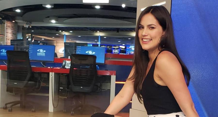 Linda Palma, presentadora.