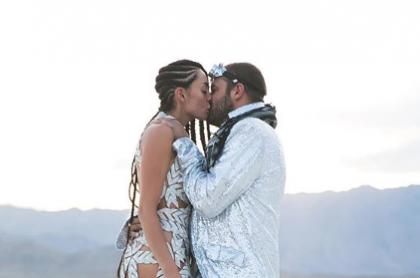Carolina Guerra y David Reuben Jr.