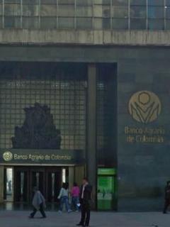 Fachada del Banco Agrario