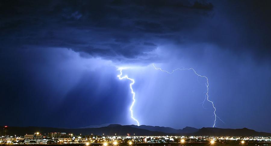 Rayos tormenta eléctrica