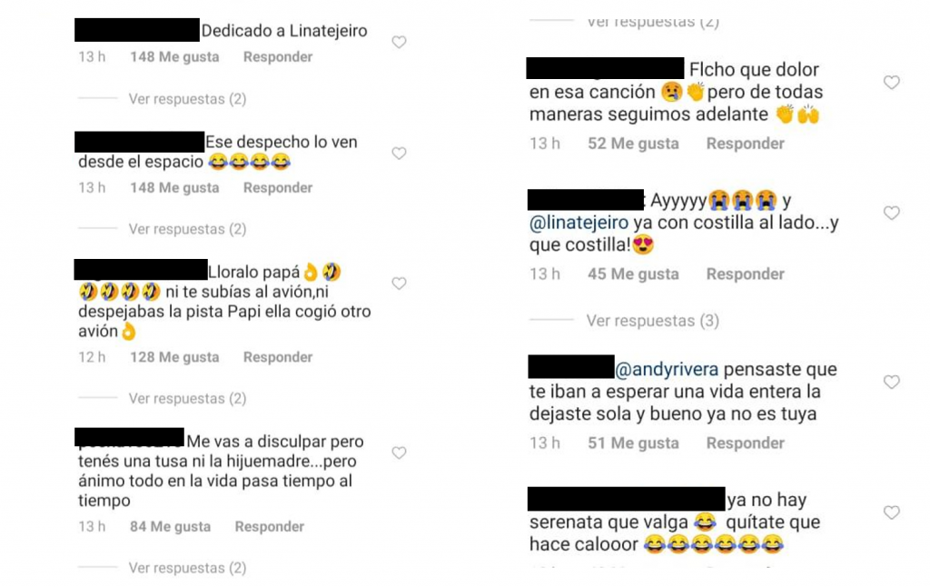 Comentarios a video de Andy
