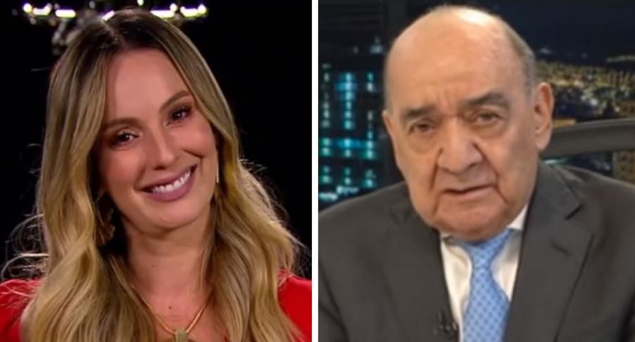Claudia Bahamón y Yamid Amat