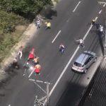 Pelea a machete entre hinchas del Medellín