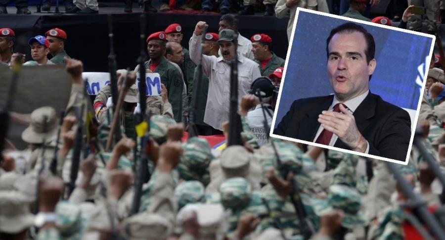 Militares de Venezuela y Mauricio Claver-Carone