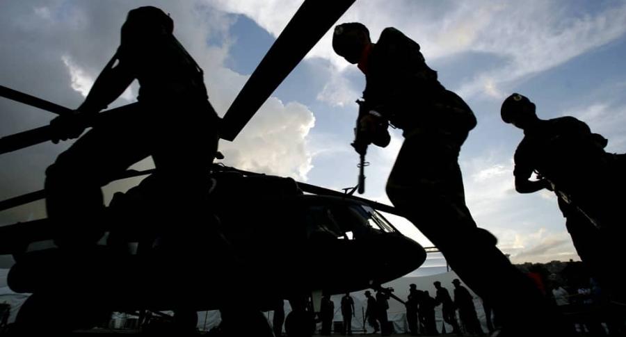 Helicóptero ruso en Venezuela.